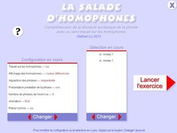 La salade d'homophones